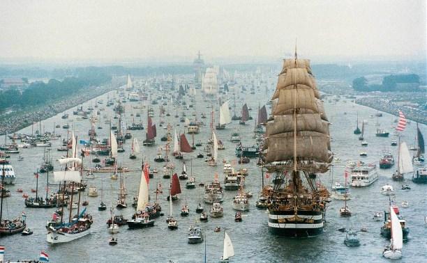 Морской фестиваль SAIL AMSTERDAM 2015