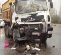 Авария Возле троллейбусного кольца в Горелках