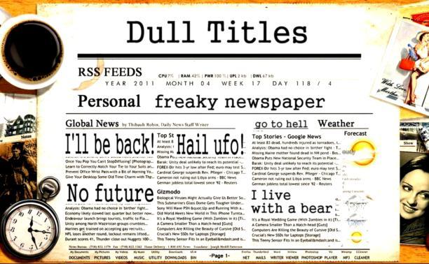 Занятие первое: пишем заголовки