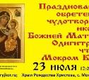 К 20-летию обретения чудотворной иконы в селе Мокрый Корь.