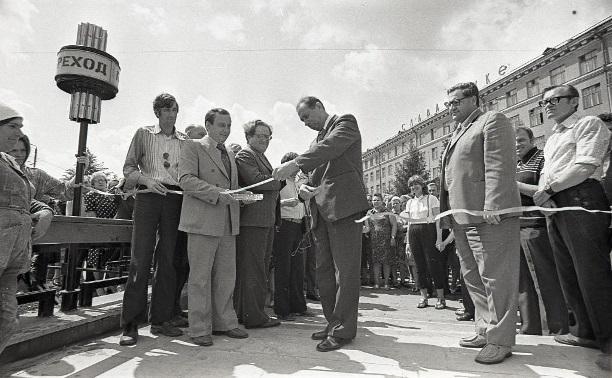 9 июля: в Туле открыли новый подземный переход