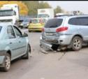 Дорожное движение по законам бильярда на Рязанке