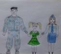 Конкурс детского рисунка в ЛО МВД России на станции Тула