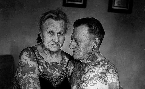 Как выглядят в старости люди с татуировками