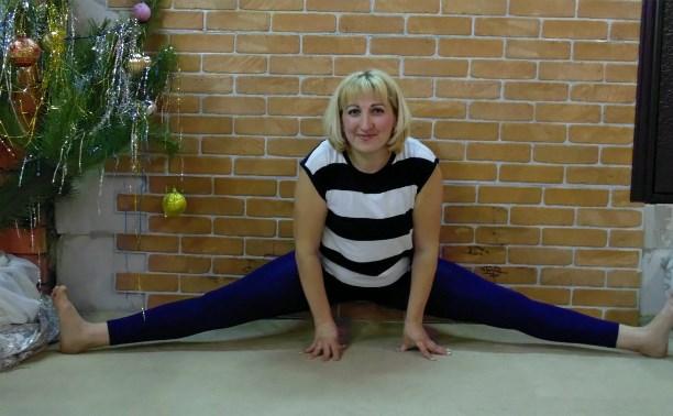 Кристина Сухарева: Я уже почти села на шпагат!
