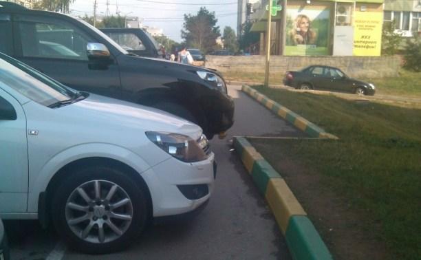 Мне плевать на всех - я паркуюсь как хочу!