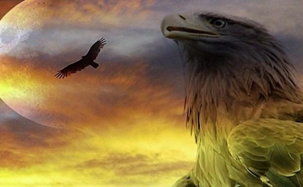 Славянский символ наступающего года Парящий Орёл.
