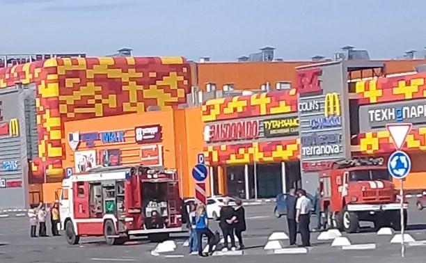 В Туле закрыли ТРЦ Макси