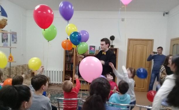 Поездка в социально-реабилитационный центр к детям