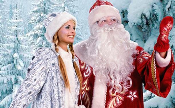 Дед Мороз и Снегурочка к вам на Новый год!