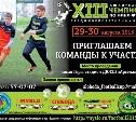 Принимаем заявки на участие в XIII «Кубке Слободы»