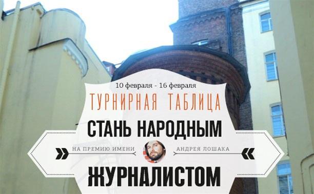 """""""Стань народным журналистом"""". 10 - 16 февраля"""