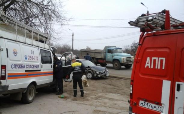 Авария на Менделеевском поселке