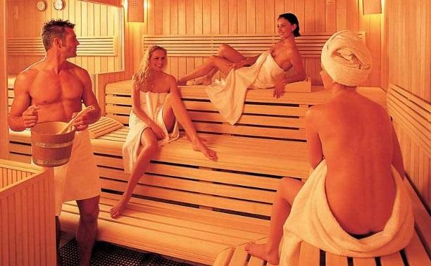 Женщины в общей бане фото #5