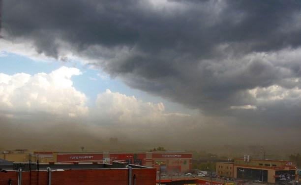 Песчаная буря в Туле