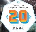 20 июня: Бассейн на кухне и чемпионат Чириос
