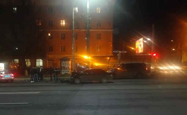Авария на проспекте Ленина с участием 4 авто