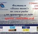 Кубок «Наша тема!» по ловле рыбы на мормышку со льда.