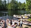 Как мы с детьми по реке Пра на байдарках ходили