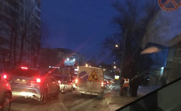 Как снег пошёл ,так начали делать дороги
