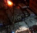 Пожар на улице Клары Цеткин