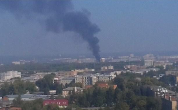 Дым над городом.
