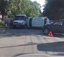 Джип перевернулся на Тургеневской (фото)