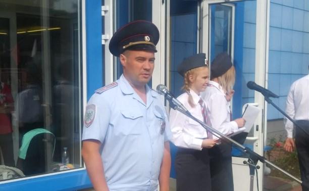 Проведение Тульскими транспортными полицейскими акции «Дети и транспорт»