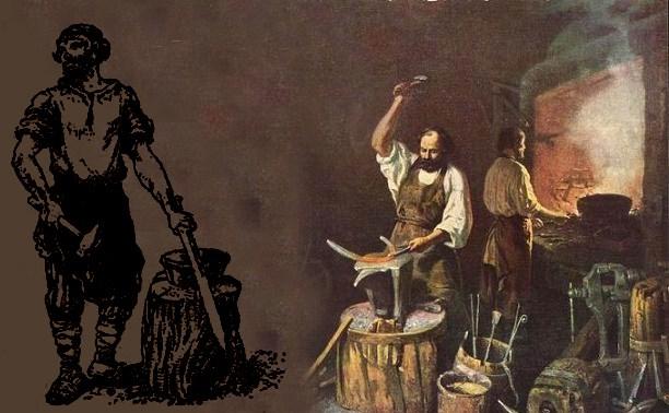 XVII век: От ремесленного производства к промышленному