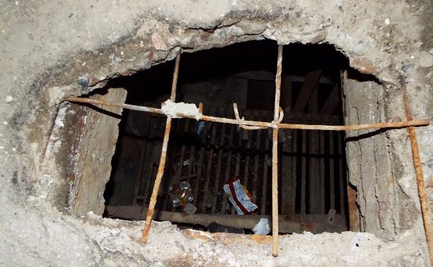 Опасные места в центре Тулы