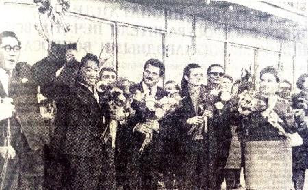16 сентября: в Тулу приехали артисты цирка социалистических стран