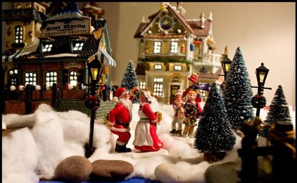 В гости к Санта-Клаусу!