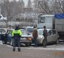 Авария на улице Рязанской. 02.12.2014.