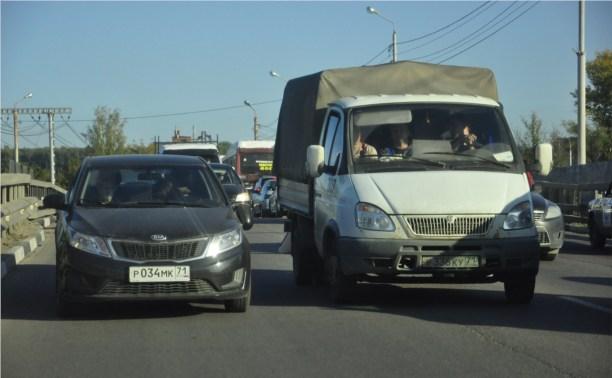 ДТП на Одоевском путепроводе
