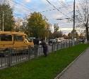 ДТП на ул Октябрьская, между Комсомольским парком и ул Галкина.