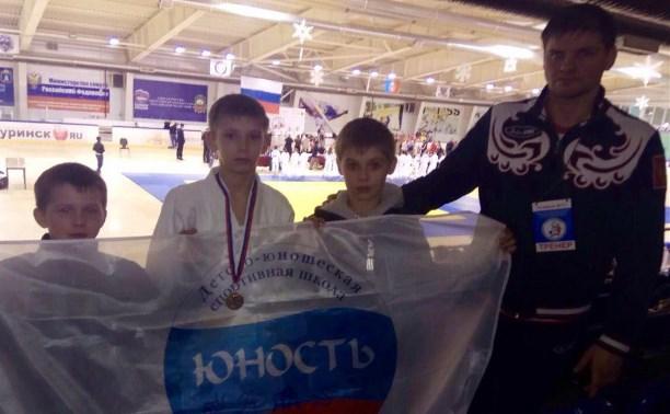 Воспитанник ДЮСШ Юность стал бронзовым призером на первенстве ЦФО по ДЗЮДО