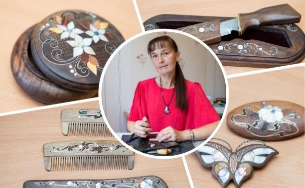 Тульская всечка: как мастерица создает уникальные украшения