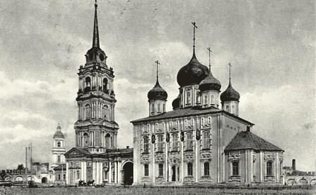 Истории Тульского кремля: Успенский собор