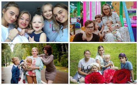 Многодетные мамы Тулы: как не сойти с ума и быть счастливой