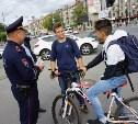 Тульских велосипедистов стали штрафовать гаишники