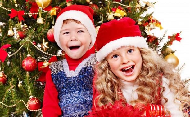 Детские новогодние праздники: куда сходить в Туле