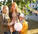 День города в Щёкино: hand-made, живые статуи и люди-гиганты
