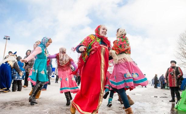 Масленица в Прилепах: вкусные блины, народные забавы и лошадиные скачки