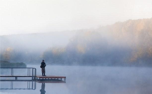 Центральный парк, осень, утро