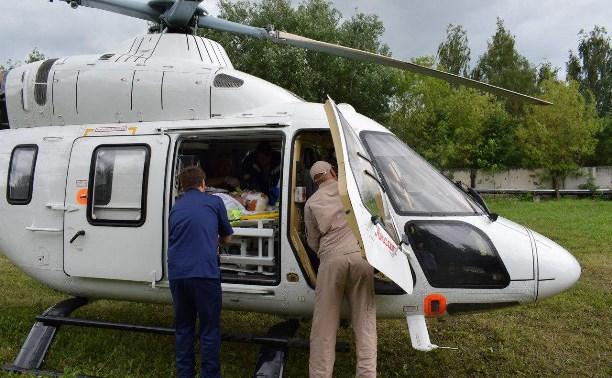 Андрей Кузнецов: «Я работаю в тульской санавиации»