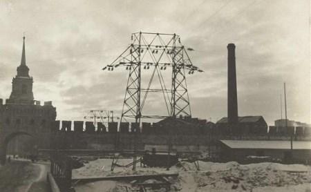Истории Тульского кремля: сто лет электростанции
