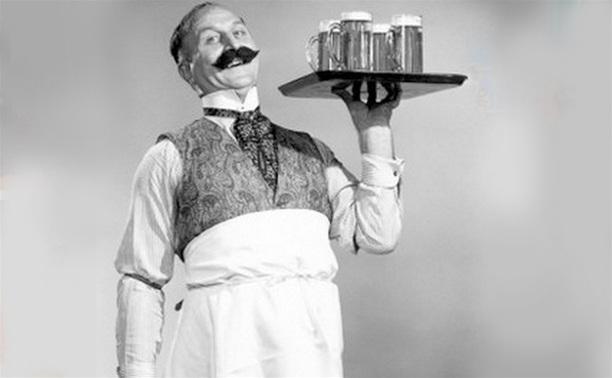 Тула прошлого века: Официанты