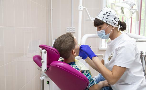 Как лечат зубы малышам в Тульской области?