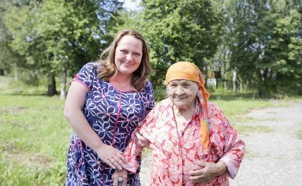 Пансионат для пожилых «Тульский дедушка» отметил новоселье в Богородицком районе