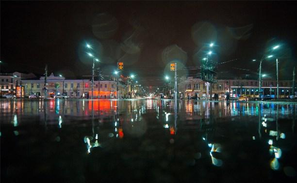 А по тульским улицам гуляет дождь